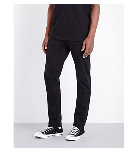 TRUE RELIGION Relaxed slim trousers (Black