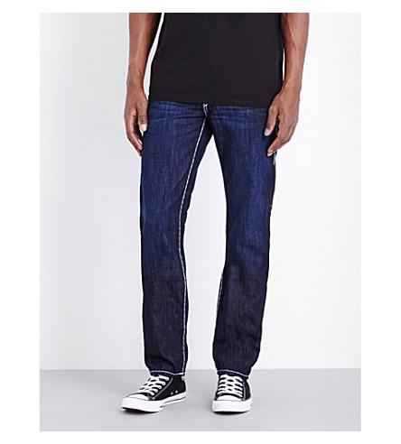TRUE RELIGION Ricky Super Tricky straight-leg jeans (Rocky+point