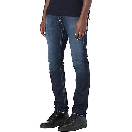 TRUE RELIGION Zach regular-fit skinny jeans (Blue