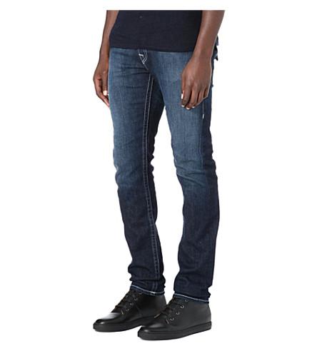 TRUE RELIGION Zach regular-fit skinny jeans (Blue