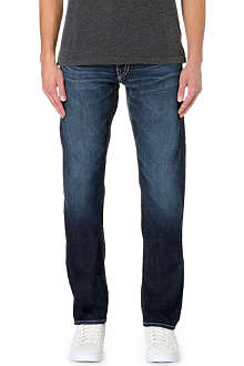 TRUE RELIGION Geno Super T slim-fit straight jeans