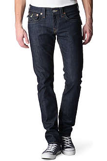 TRUE RELIGION Zach skinny-fit tapered jeans
