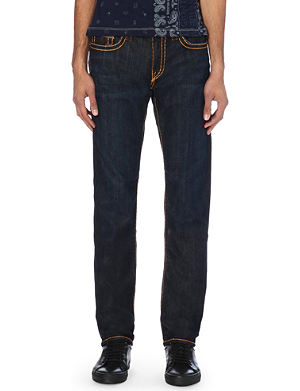 TRUE RELIGION Geno regular-fit straight-leg jeans