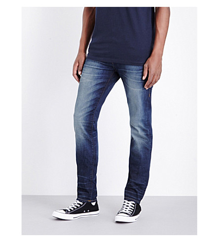 TRUE RELIGION Rocco relaxed-fit skinny jeans (Urban+dweller