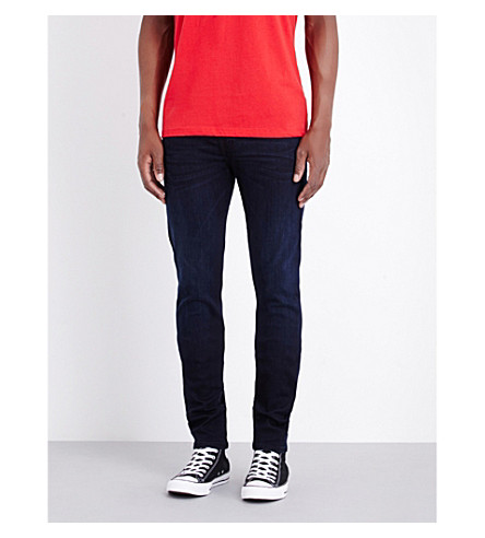 TRUE RELIGION Rocco slim-fit skinny jeans (Dk passage