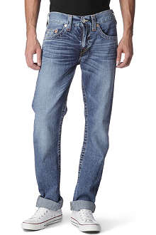 TRUE RELIGION Bobby regular-fit straight jeans