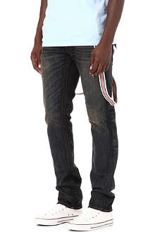 TRUE RELIGION Zach slim-fit brace jeans
