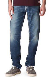 TRUE RELIGION Jack Big T regular-fit straight jeans