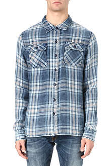 TRUE RELIGION Checked workwear shirt