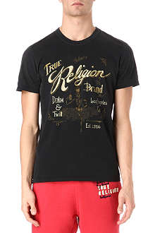 TRUE RELIGION Whiskey t-shirt
