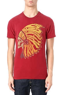 TRUE RELIGION Native American headdress t-shirt