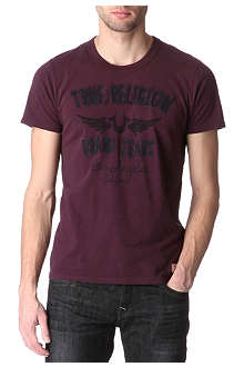 TRUE RELIGION Achillieus logo t-shirt