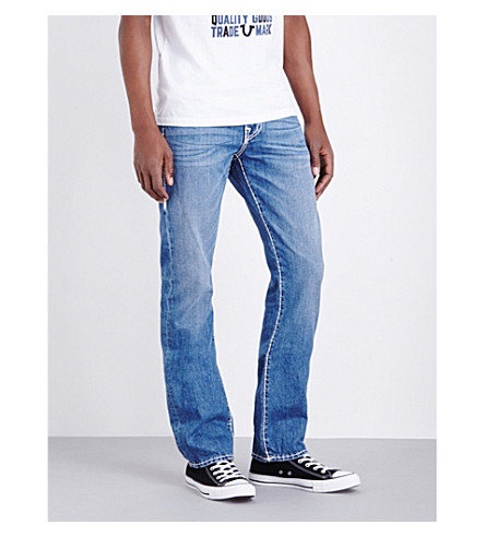 TRUE RELIGION Ricky relaxed-fit straight jeans (Four+rivers