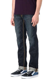 TRUE RELIGION Geno Big QT regular-fit straight jeans