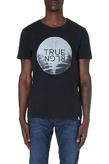 TRUE RELIGION Moon Rise cotton t-shirt