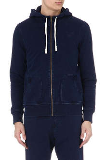 TRUE RELIGION Overdyed cotton hoody