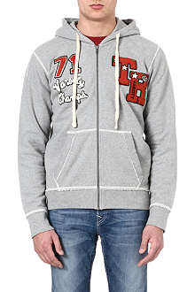 TRUE RELIGION Varsity Champs zip hoody