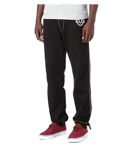 TRUE RELIGION QT jogging bottoms (Black