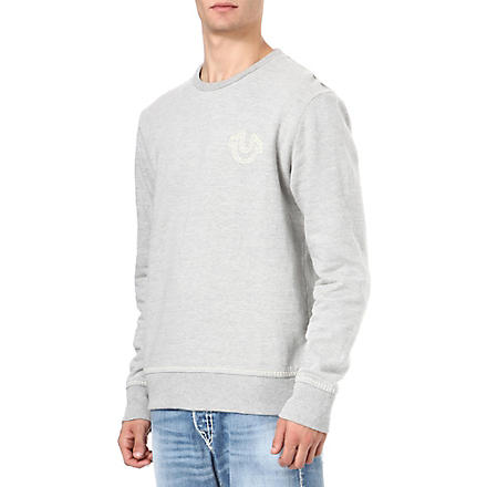 TRUE RELIGION Logo sweatshirt (Grey