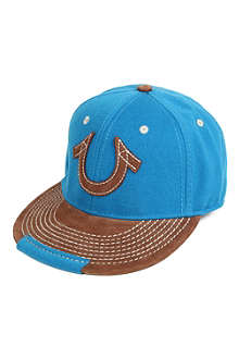 TRUE RELIGION Horseshoe wool baseball cap