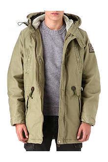 TRUE RELIGION Cotton parka