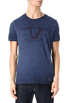 TRUE RELIGION Buddha stamp t-shirt