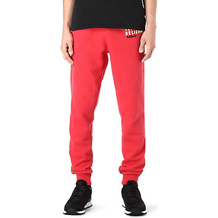 TRUE RELIGION Appliqué logo jogging bottoms (Red