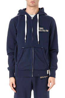 TRUE RELIGION Appliqué logo hoody