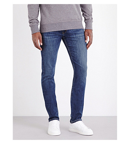 PAIGE DENIM Lennox slim-fit straight jeans (Indigo