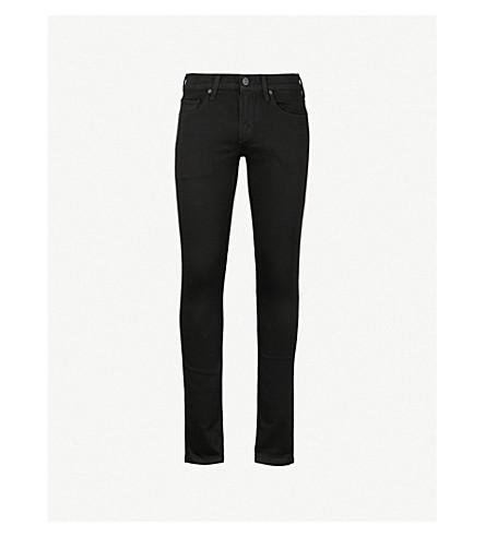 PAIGE Lennox skinny jeans (Black+shadow