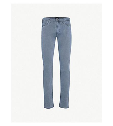 PAIGE Lennox Vintage slim-fit skinny jeans (Graphite+blue