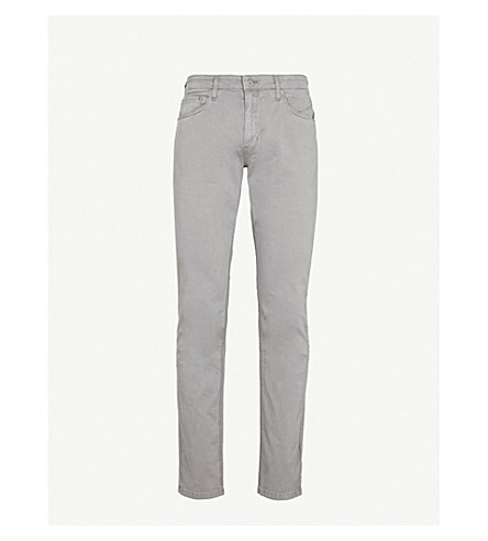 PAIGE Lennox Vintage slim-fit skinny jeans (Grey morning