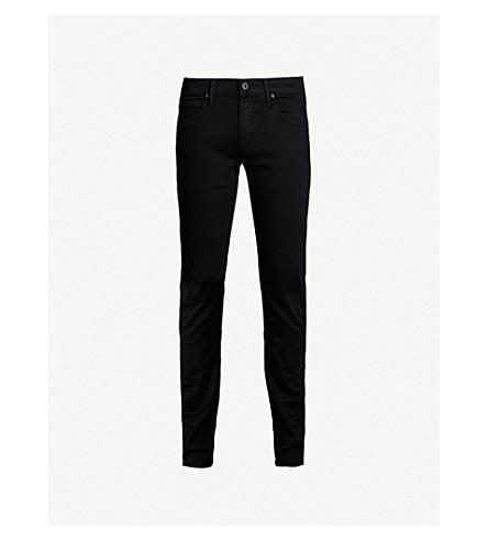 PAIGE DENIM Federal slim-fit jeans (Black+shadow
