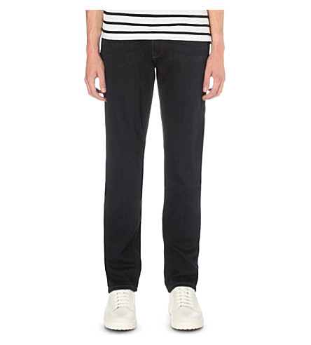 PAIGE DENIM Federal tarek stretch-denim slim-fit jeans (Tarek