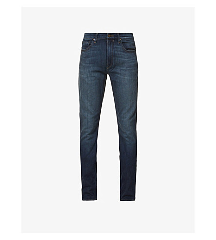 PAIGE Federal slim-fit tapered jeans (Blakely