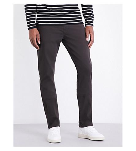 PAIGE DENIM 联邦修身版型锥形棉布牛仔裤 (山核桃