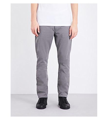 PAIGE DENIM Federal mid-rise skinny jeans (Granite+stone