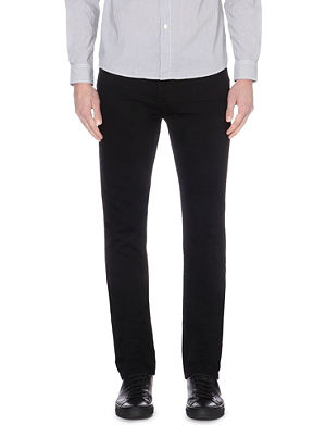 PAIGE DENIM Federal stretch-denim slim-fit jeans