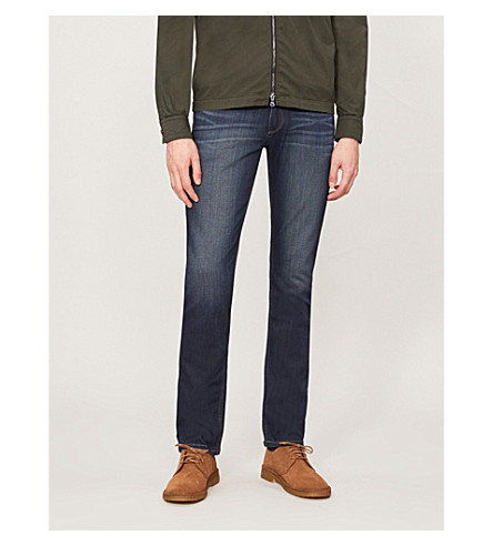 PAIGE DENIM Normandie slim-fit straight jeans (Rigby