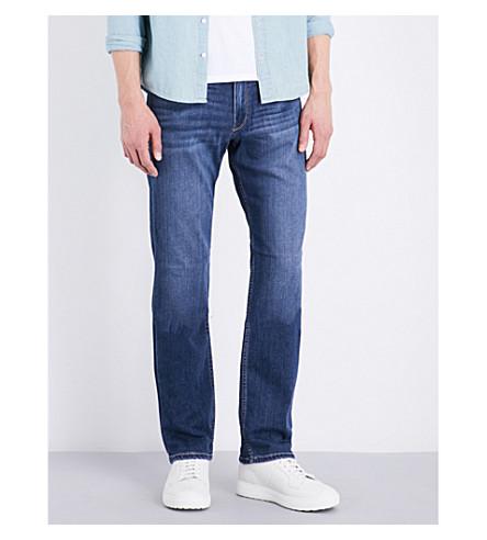 PAIGE DENIM Normandie slim-fit straight jeans (Birch