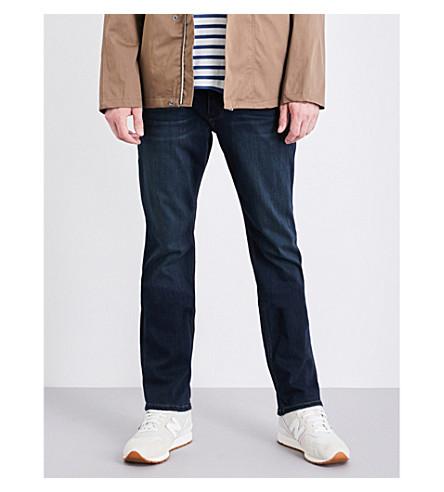 PAIGE DENIM Normandie straight mid-rise jeans (Jeremiah