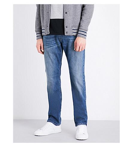 PAIGE DENIM Normandie slim-fit straight jeans (Cash