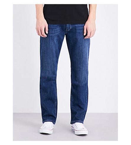 PAIGE DENIM Normandie mid-rise straight jeans (Badger