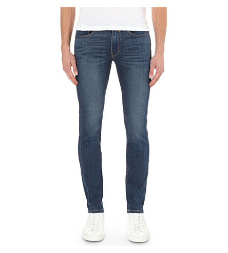PAIGE DENIM Croft birch slim-fit skinny jeans (2667