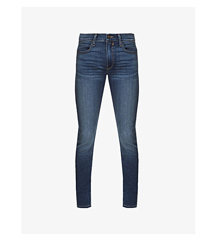PAIGE DENIM Croft Birch slim-fit skinny jeans (Blue