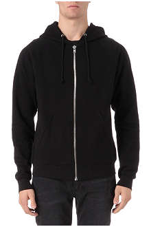 BLK DNM Zip-through hoody
