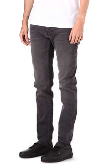 BLK DNM Super-skinny stone bleached jeans