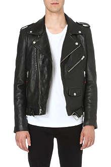BLK DNM Lambskin motorcycle jacket