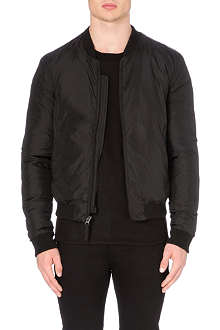BLK DNM Down filled bomber jacket