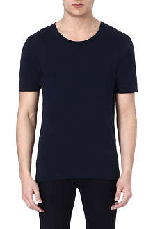 BLK DNM Navy crew neck t-shirt